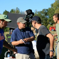 James Suttles directing the film Red Dirt Rising